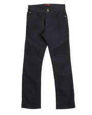 Arcade Styles - Stretch Color Moto Pants (8-20)