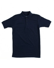 Arcade Styles - S/S Solid Pique Polo (8-20)