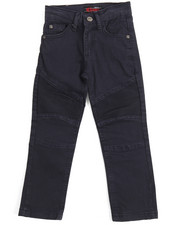 Pants - Stretch Color Moto Pants (4-7)