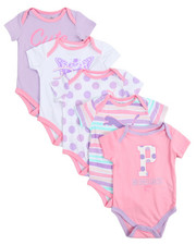 Infant & Newborn - S/S 5 Pack Bodysuit (Infant)
