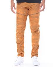 Men - Paint Splatter Moto Pant