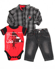 LRG - 3 Piece Woven Set (Infant)