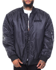 Southpole - Padded Ma-1 Jacket (B&T)