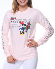 Women - Minnie World Famous Sleeve Hit L/S Tee