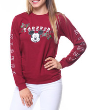 Women - Mickey Forever Sleeve Hit L/S  Tee