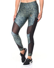 Leggings - ALL OVER PRINT VELVET ROPE LEGGINGS