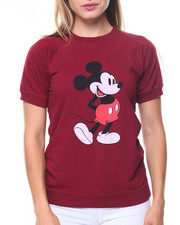 Women - Mickey S/S Fleece Sweatshirt