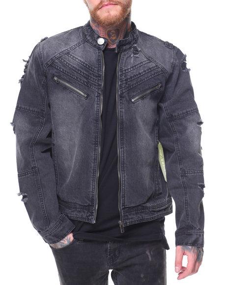 CALIBER - Dip Dye Denim Jacket