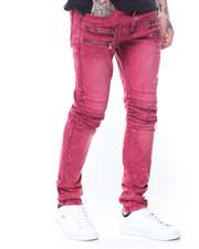 Buyers Picks - Pleated Knee Colored Denim