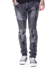 Men - Ripped Motto Jeans