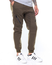 Jeans & Pants - Quilted Fleece Jogger