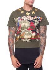 Shirts - Camo Star Foil Printed Tee
