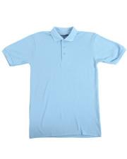 Tops - S/S Boys Polo Pique Shirt (16-20)