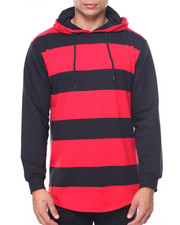Hoodies - French Terry Stripe Pullover
