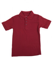 Tops - S/S Boys Polo Pique Shirt (4-7)