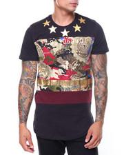 T-Shirts - Camo Star Foil Printed Tee