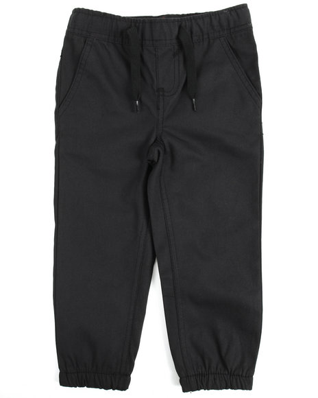 Arcade Styles - Twill Fashion Jogger Pants (2T-4T)