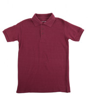 DRJ School Uniforms - S/S Boys Polo Pique Shirt (8-14)