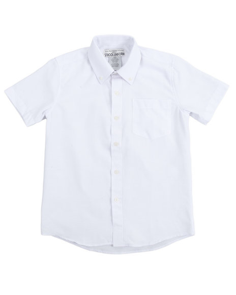 DRJ School Uniforms - Boys Oxford Shirt (8-14)