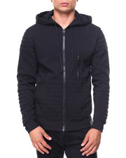 Outerwear - Quilted Fleece Hoody