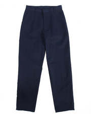 DRJ School Uniforms - Boys Flat Front Navy Pants (16-20)