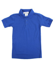 DRJ School Uniforms - S/S Boys Polo Pique Shirt (4-7)