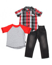 Boys - City 3 Piece Set (2T-4T)