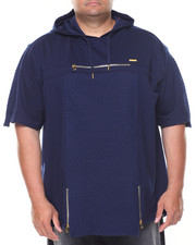 Hoodies - French Terry Jaquard S/S Hood1E (B&T)