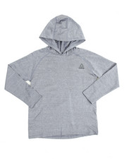 Boys - Marled Popover L/S Hoody (8-20)