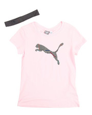 Puma - S/S Tee And Headband (7-20)