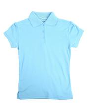DRJ School Uniforms - S/S Girls Polo Shirt (7-20)