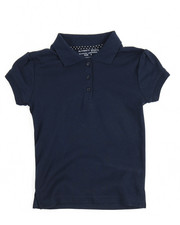 DRJ School Uniforms - S/S Girls Polo Shirt (4-6X)