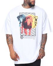 LRG - S/S There's A Lion Tee (B&T)