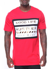CAMP - Good Life Hustler Solid S/S Tee