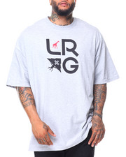 LRG - S/S LRG Stacked Tee (B&T)