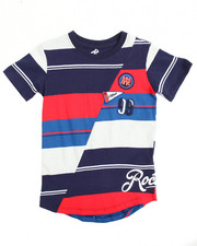 Boys - S/S Stripe Split Tee (4-7)