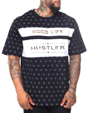 Big & Tall - Good Life/Hustler S/S Tee (B&T)