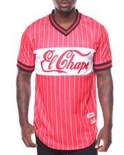 Jerseys - Champo Pinstripe S/S Baseball Jersey