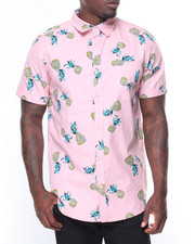 Buyers Picks - S/S Pineapple Printed Woven
