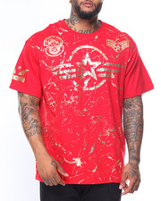 Buyers Picks - S/S Military Gold Foil Tee (B&T)