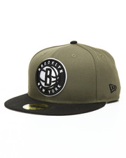 NBA, MLB, NFL Gear - 9Fifty New Olive Brooklyn Nets Snapback Hat