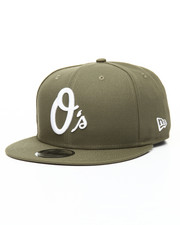 NBA, MLB, NFL Gear - 9Fifty New Olive Baltimore Orioles Snapback Hat