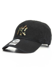 NBA, MLB, NFL Gear - NY Yankees Camo Fill Clean Up Hat