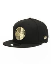 New Era - 9Fifty Metal Badges Golden State Warriors Snapback Hat