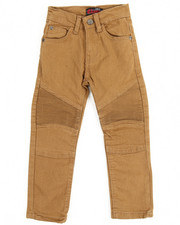 Boys - Stretch Color Moto Pants (4-7)