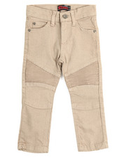 Boys - Stretch Color Moto Pants (2T-4T)