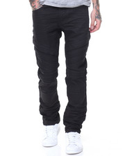 SMOKE RISE - Panelled Treatment Jean