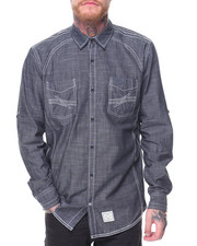 Buyers Picks - L/S Cotton Woven Solid Shirts