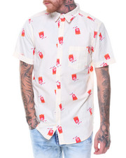 Buyers Picks - S/S French Fries/Ketchup Printed Woven