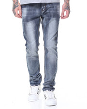 Men - Classic 5 Pocket Stretch Jeans